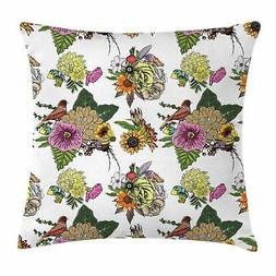 Aster Flower Throw Pillow Cases Cushion Covers Home Decor 8