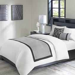 Bailey Bedscarf and Pillow Set Grey See below