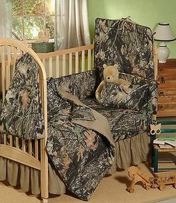 MOSSY OAK CAMOUFLAGE BABY CRIB BEDDING SHEET & PILLOW CASE S