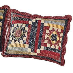 country cottage paisley pillow sham