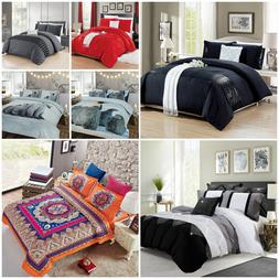 Duvet Cover Bedding Set Quilt Cover With Pillow Cases Single