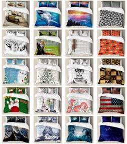Duvet Cover Sets, 3 Sizes with Pillow Shams Bedding Sets by