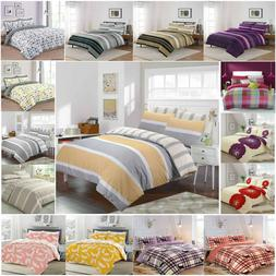 Duvet Cover with Pillow Case Quilt Cover Bedding Set in Sing