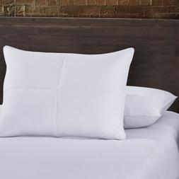 Set of 2 Goose Feather and White Down Bed Pillow Cotton Cove