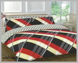 HARDY PATTERNED NEW DUVET/PILLOW CASE CONTEMPORARY/CLASSIC B