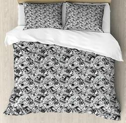 Hipster Duvet Cover Set Twin Queen King Sizes with Pillow Sh