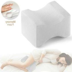 Knee Pillow Leg Positioner - Made from Memory Foam - Removab