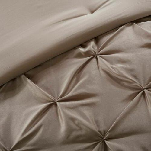 24pc Mushroom Comforter Set, Sheets, Pillows, Curtains AND More