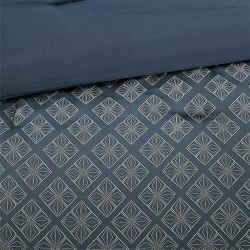 7pc Grey Comforter - ALL SIZE