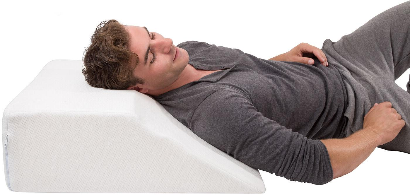 w/ Case Premium Support Sleeping, Back Pain - Foam Spinal &