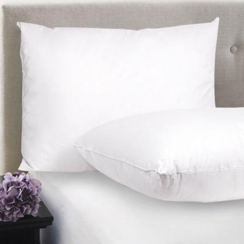 feather down blend bed pillows