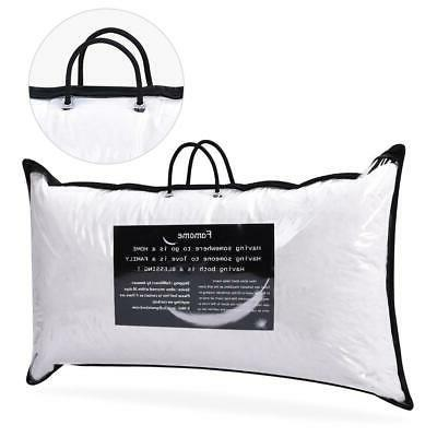 Feather Down Bed Pillow of Pillows Set King Size
