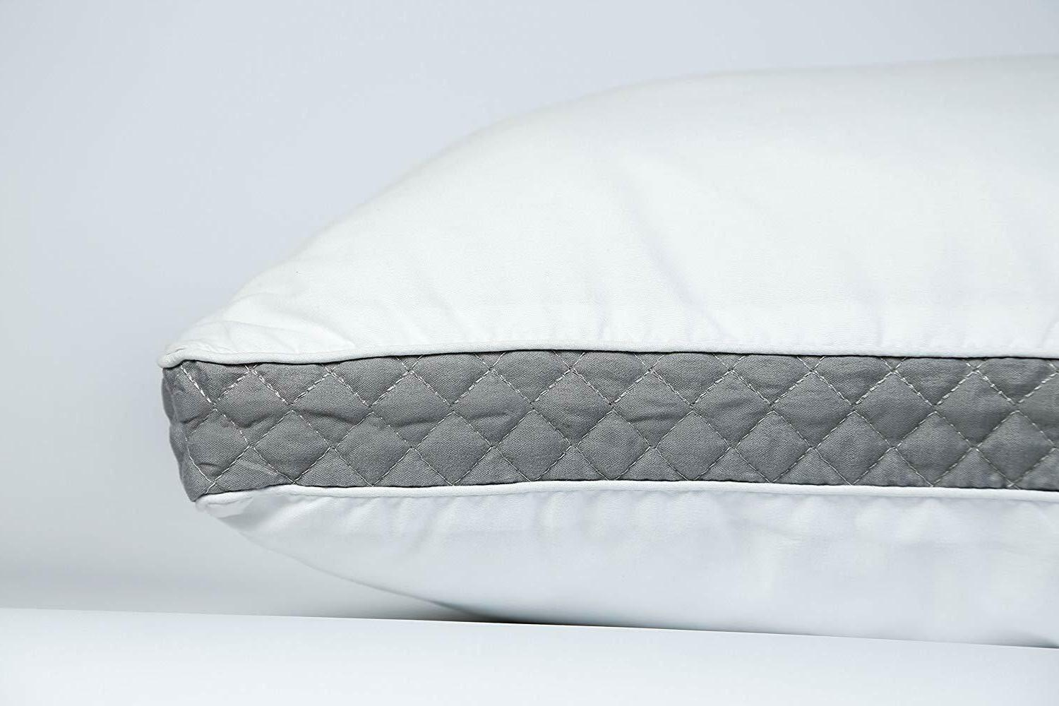 2 Pack Ultra Gusseted Pillows for Back