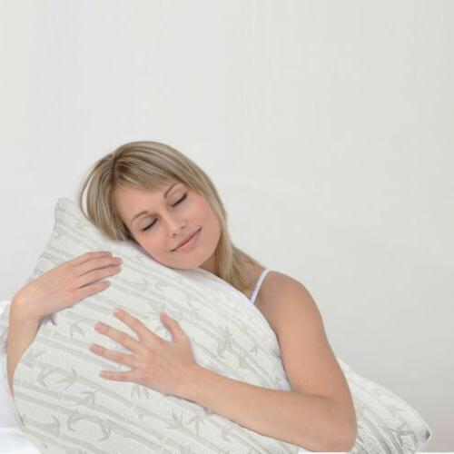 Memory Luxurious Bamboo Pillow by Clara - King & Available