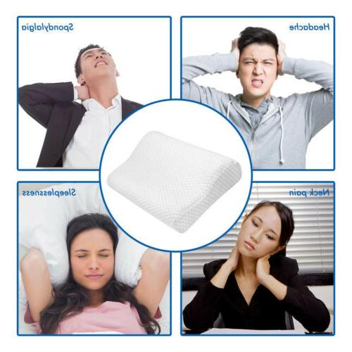 Memory Sleep Pillow Contour Orthopedic Support Breath