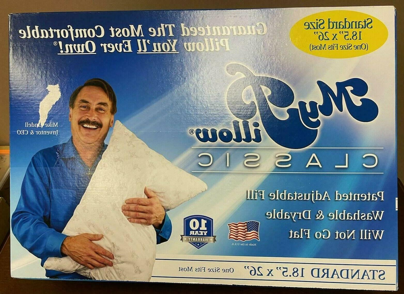 my pillow classic series bed pillow standard