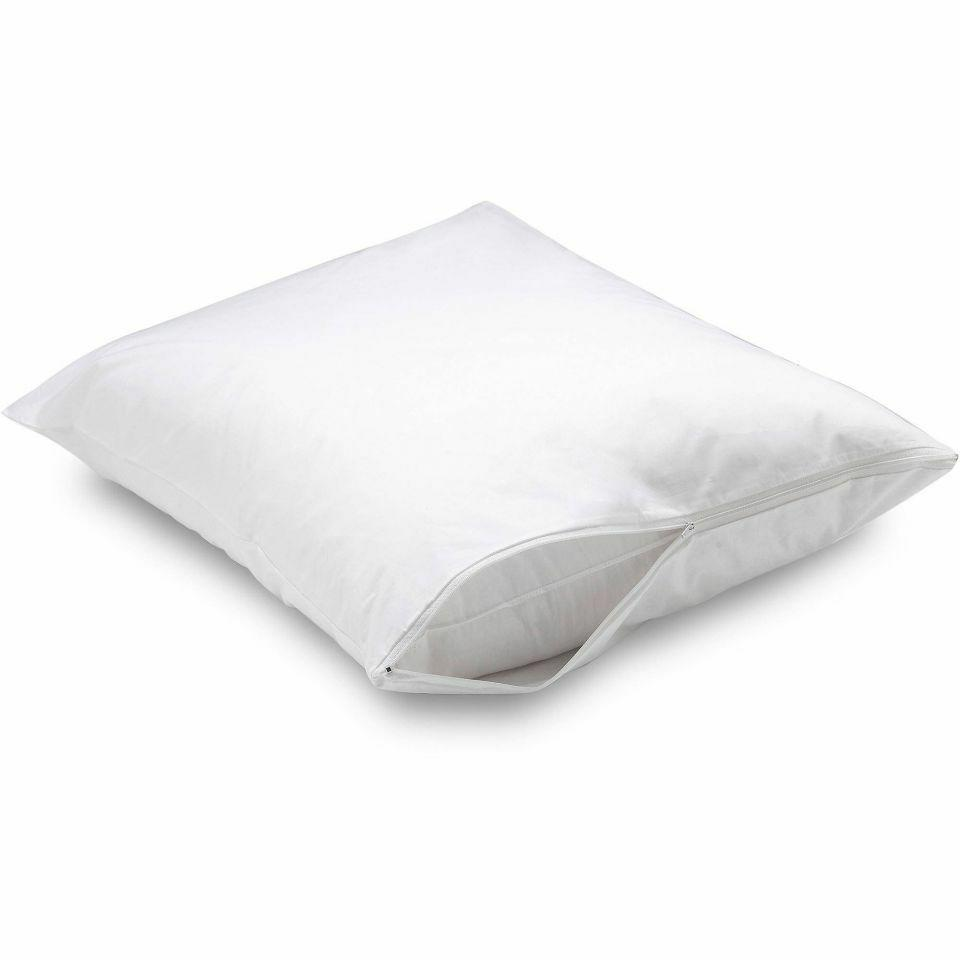 new soft fabric allergy barrier pillow cover