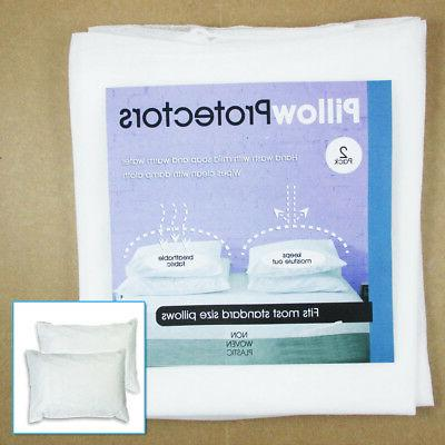 Set Of Pillow Protector Pillowcase Soft New