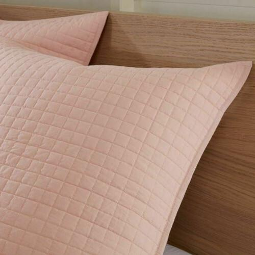 Pink Pink Tufts Comforter Set Decorative - ALL SIZES