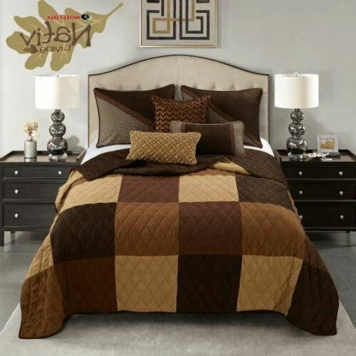 RUSTIC COUNTRY PRIMITIVE WINCHESTER PATCHWORK QUILT COLLECTION SHARP