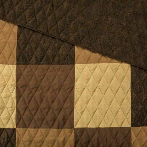 RUSTIC COUNTRY PRIMITIVE PATCHWORK QUILT SHARP