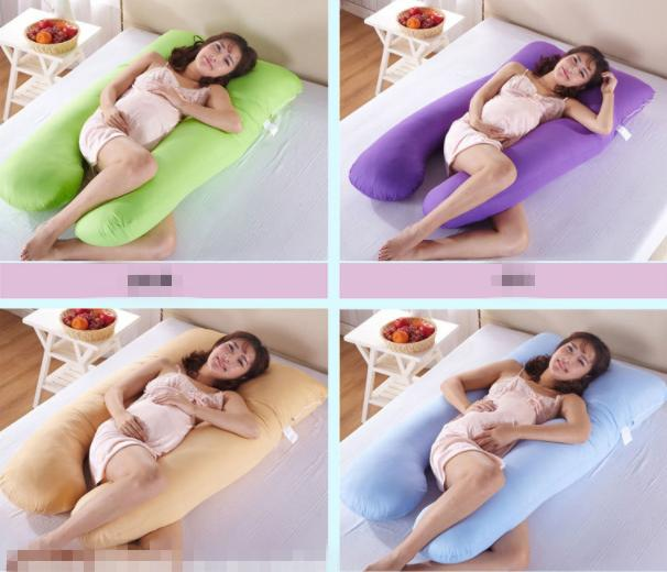 U Shape Maternity Pillow Case Sleeping Support Pregnant