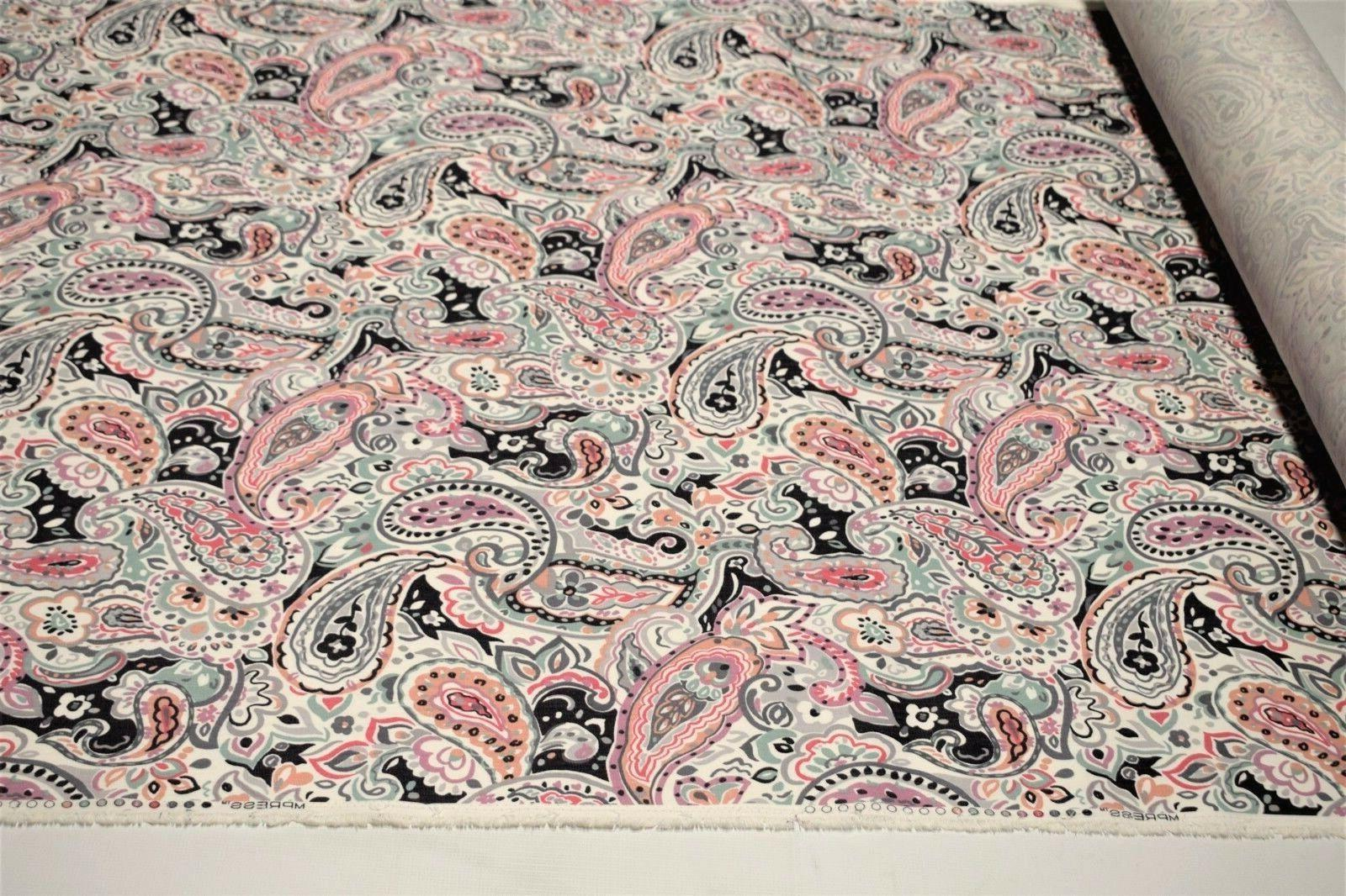 Upholstery Paisley Cotton