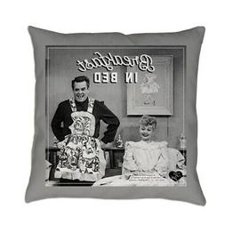 CafePress Lucy Ricky Breakfast In Bed Everyday Pillow