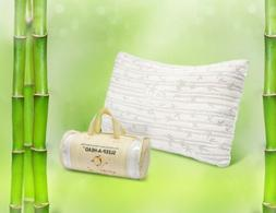 Memory Foam Bamboo Pillow by Clara Clark - Available in King
