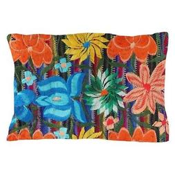 CafePress Mexican Flower Embroidery Pillow Case
