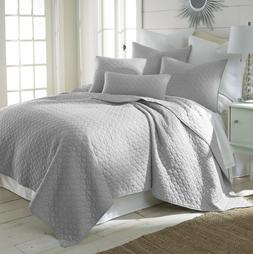 MIDWEST NENA SOLID CLOSOUT QUILT BEDDING BEDSPREAD COVERLET
