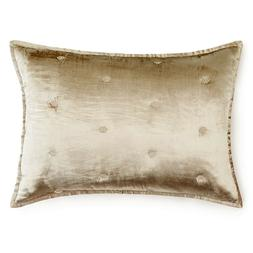 NEW Hudson Park Bedding Luxe Piazza Quilted KING Pillow Sham