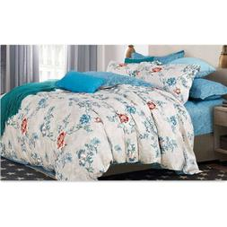 NEW Bedsure Duvet Cover set of 3 Printed Soft for Comforter