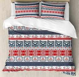 Nordic Duvet Cover Set Twin Queen King Sizes with Pillow Sha