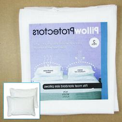 Set Of 2 Pillow Protector Cover Standard Size Pillowcase Sof