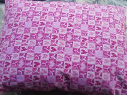 Handmade Pink Breast Cancer Bed Pillow