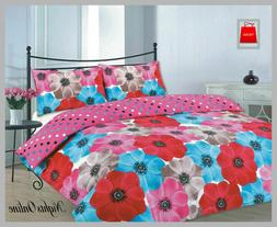 SOFIA PATTER  NEW DUVET/PILLOW CASE CONTEMPORARY/CLASSIC BED