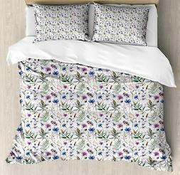 Thistle Duvet Cover Set Twin Queen King Sizes with Pillow Sh