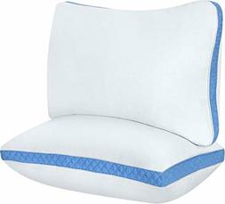 Utopia Bedding Gusseted Quilted Pillow  Premium Quality Bed